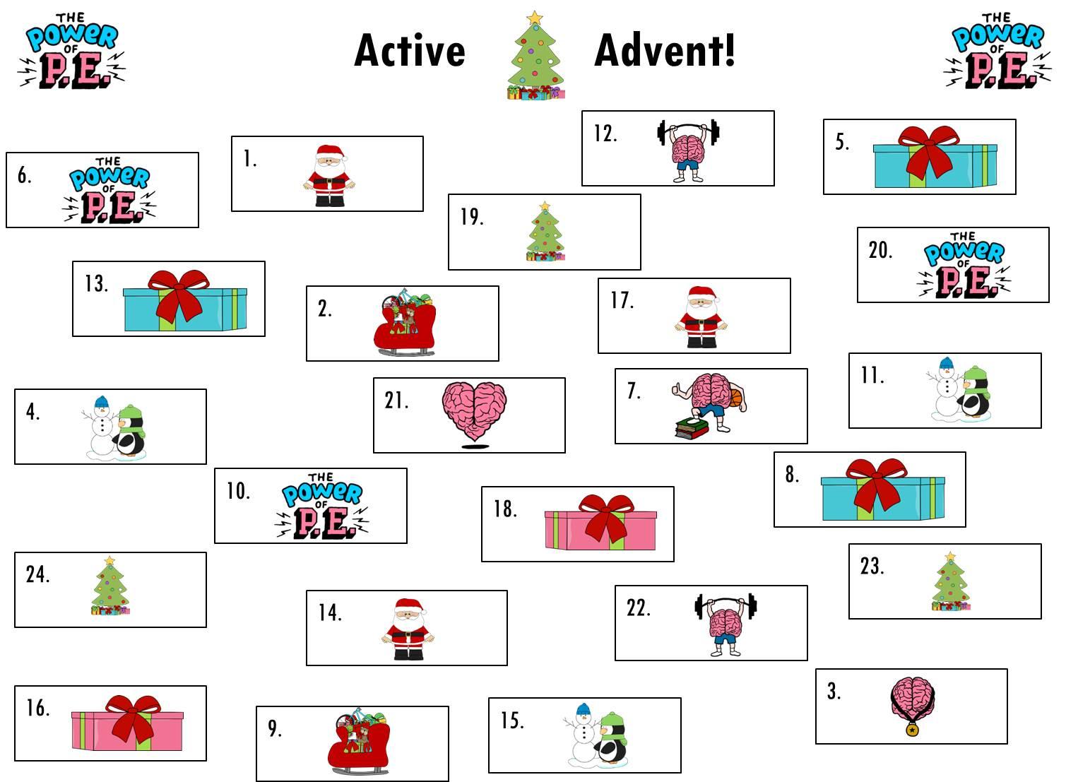 Active Advent 1