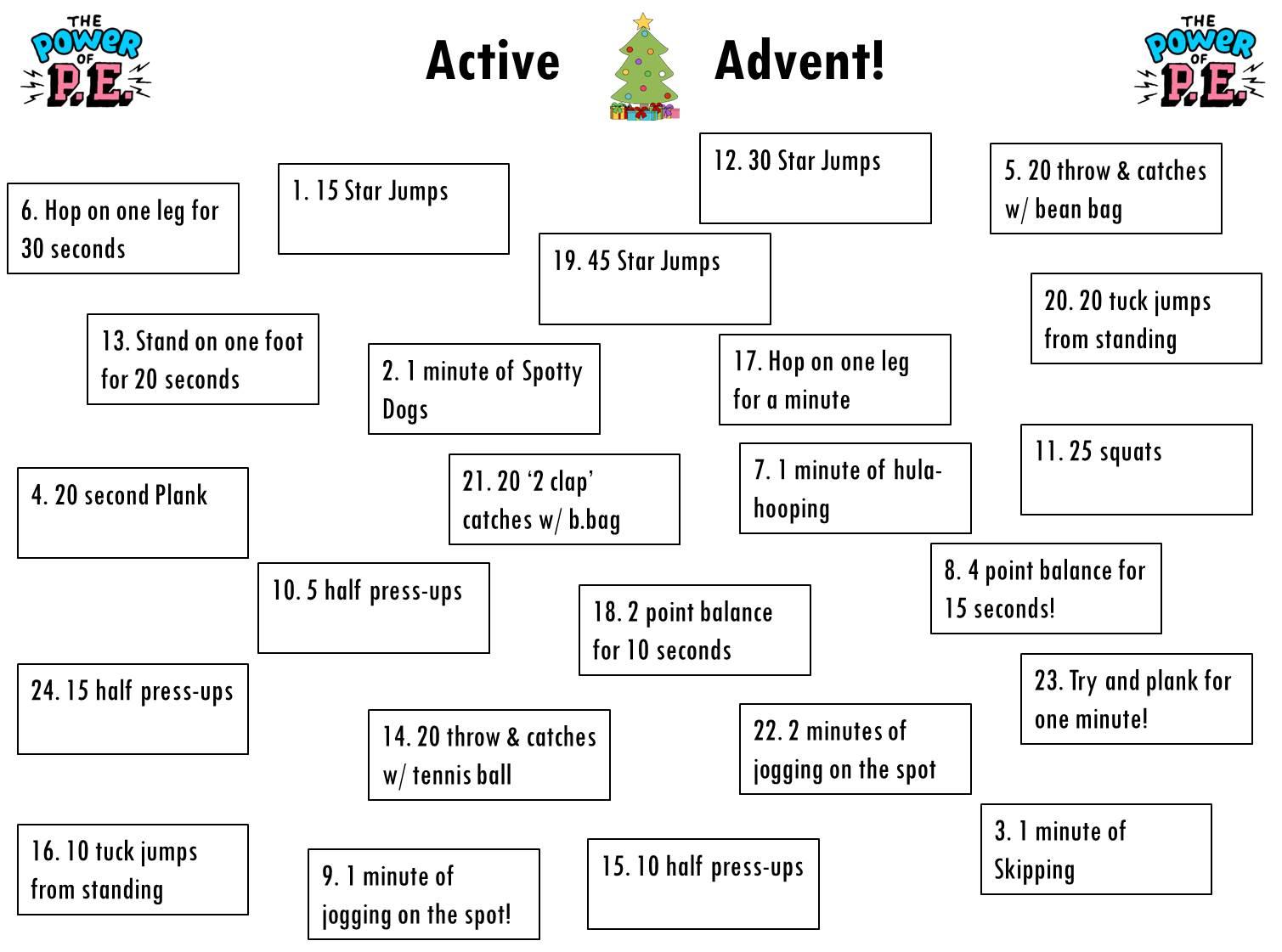 Active Advent 2