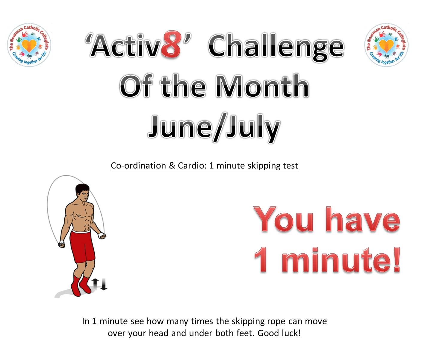 Power of P.E Monthly challenge June-July