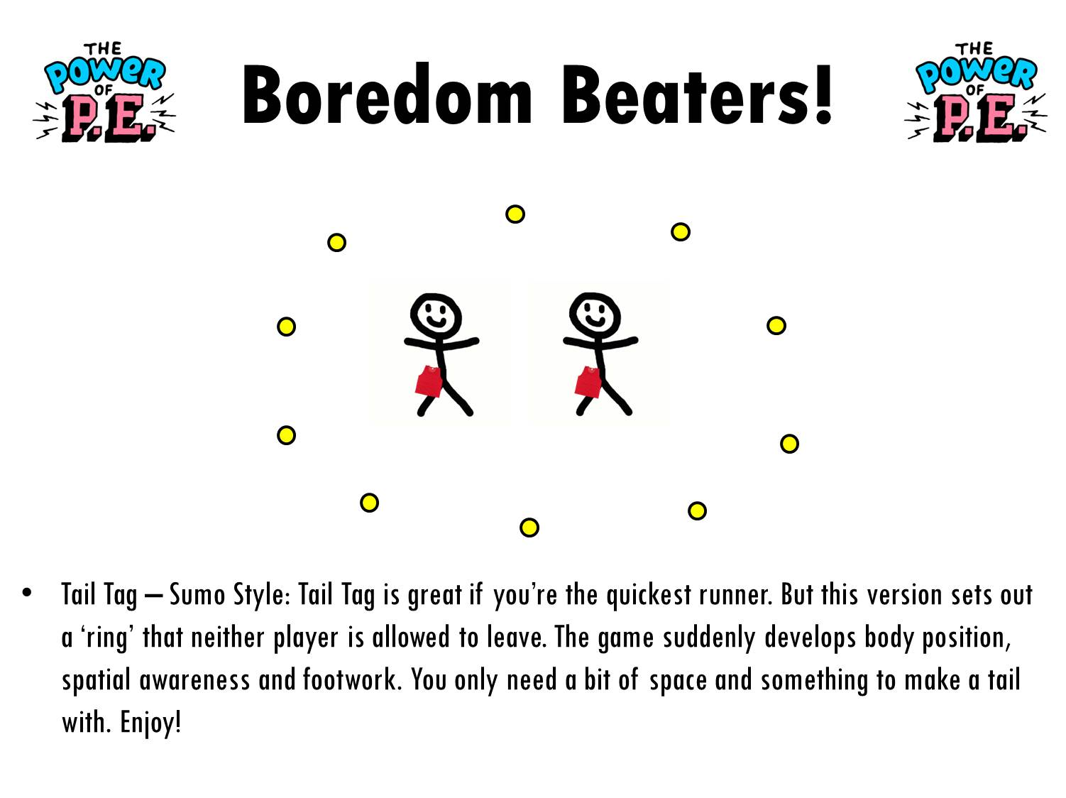 Boredom Beaters! - Ideas to keep kids active at home - Power of PE ...
